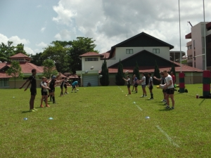 Saracens Academy Coach in KL June 2014
