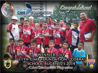 KL Saracens Under 12 - Champions COBRA 10s 2014