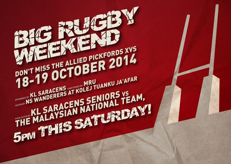 Big Weekend of Rugby 18&19 October 2014