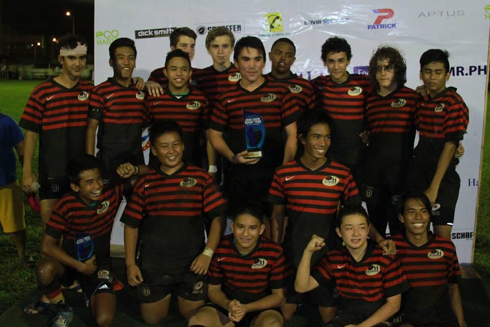 Asian Junior 10s, Manila 2014 - Under 16 Champions!
