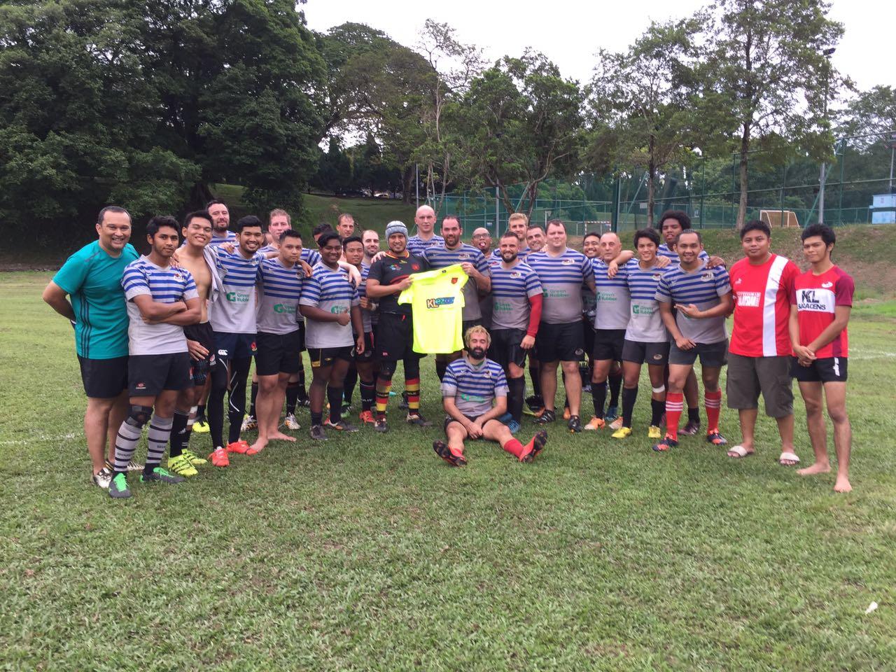 Pre-season 2016 - KL Saracens & Bangi Hunters