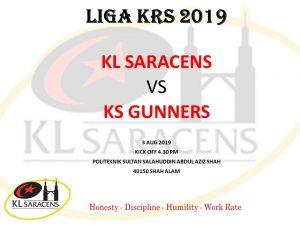 KL Saracens KL Saracens battle to win again in Liga KRS